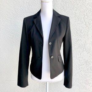 BCBGMaxAzria classic black blazer